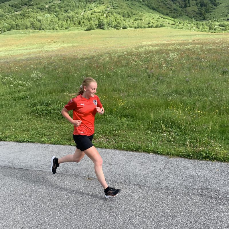 Laura Tschiderer, DST Landeck-Reutte - 1. virtuelles SVF Lauf- und Walking-Event - Sportverein Finanz