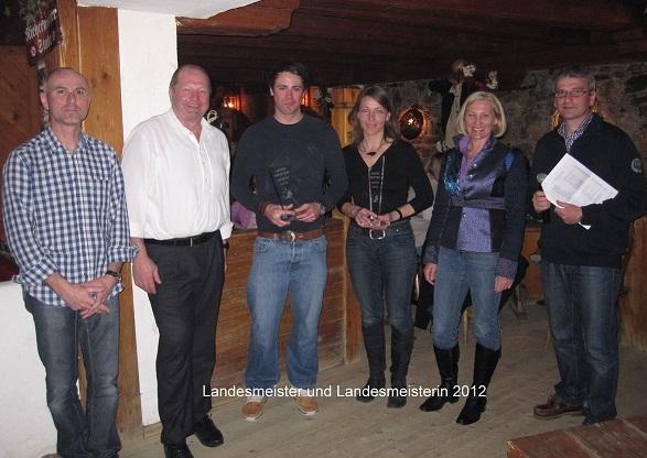 Salzburger Landes-Finanz-Skimeisterschaft 2012